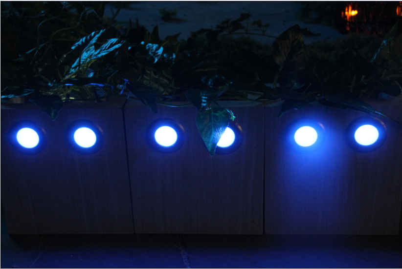 Led Deck Lights RGB with Remote Controller (low Voltage)