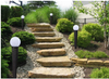 Solar Glass Pearl Bollard Medium Size-LED Garden Decorative Lights Outdoor-Patio Light