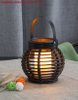 Battery Operated Round Rattan Lantern Garden Light (mini Size) -led Garden Decorative Lights Outdoor